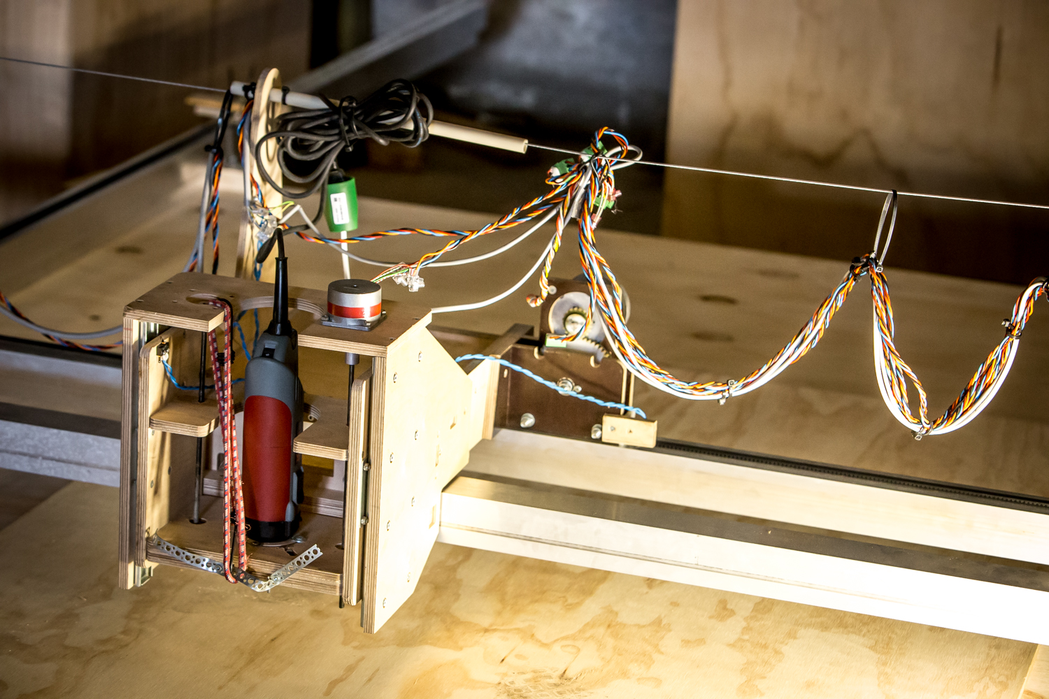 Open source extra large CNC