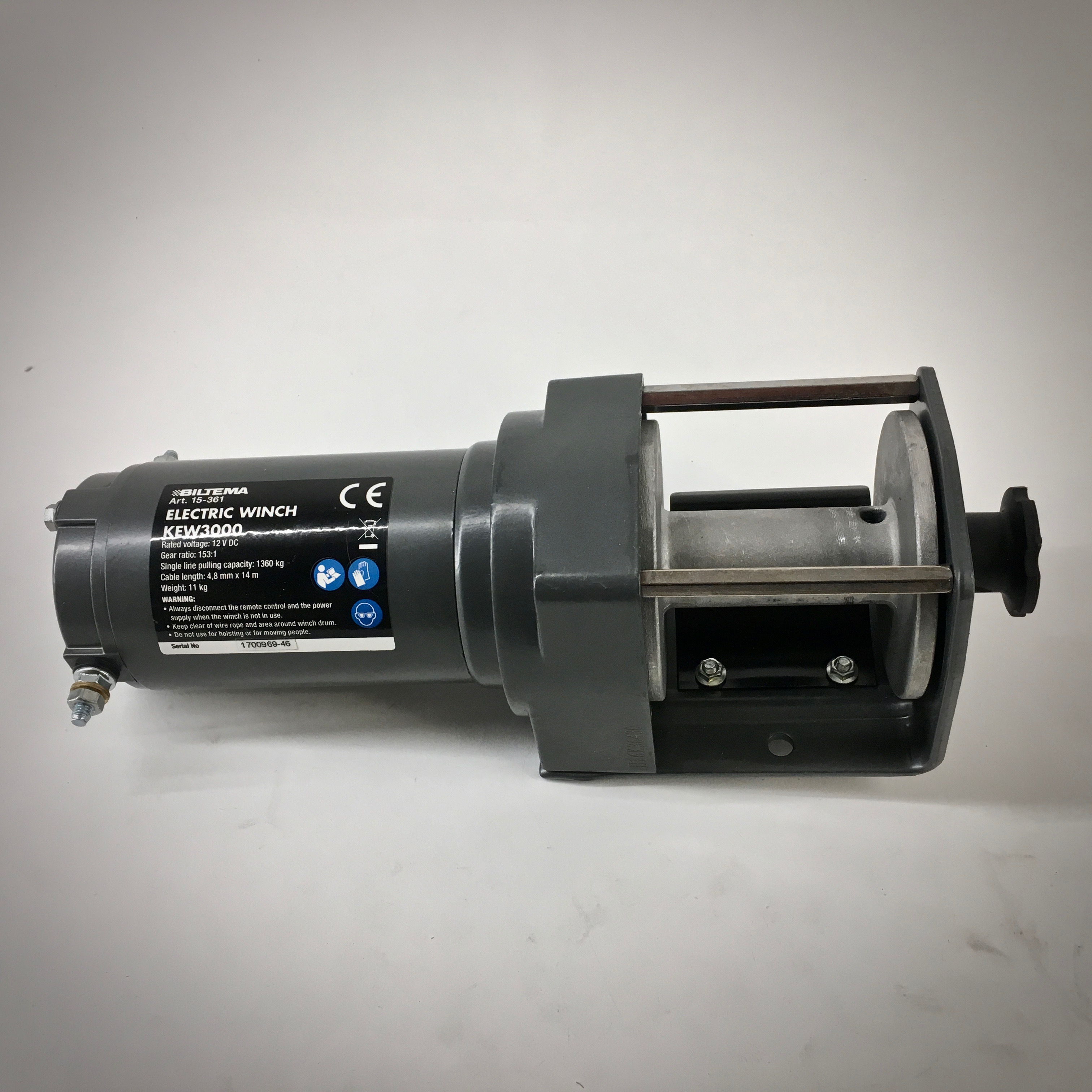Biltema Electric Winch