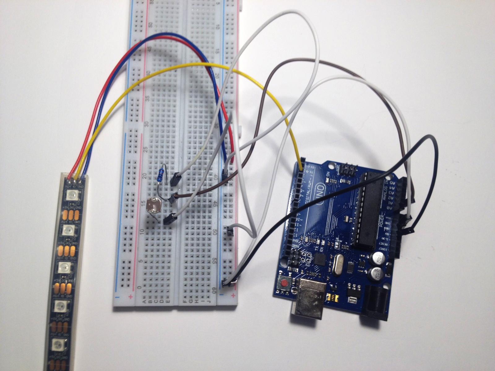 Rapid Prototyping Photoresistor Symbol The Circuit Wiring